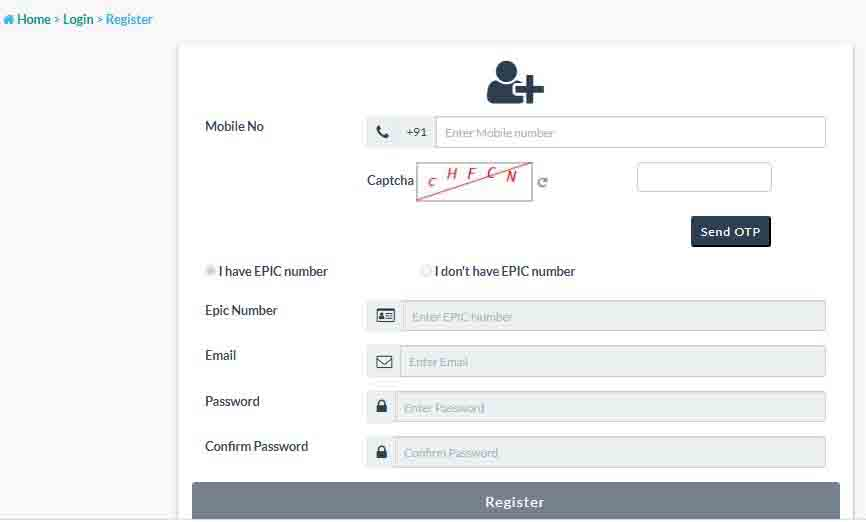 How to Apply new voter id Card online Application form in Hindi