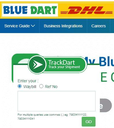 ब्लू डार्ट कूरियर को ट्रैक कैसे करे ऑनलाइन जाने हिंदी में।