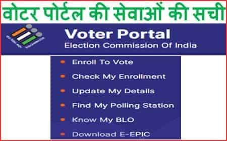 वोटर पोर्टल नई वोटर आईडी कार्ड ऑनलाइन पंजीकरण
